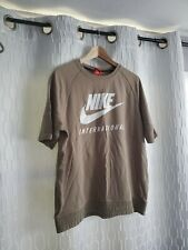 Nike Sportswear International Crew Short Sleeve Sweatshirt 834306-457 XL Men