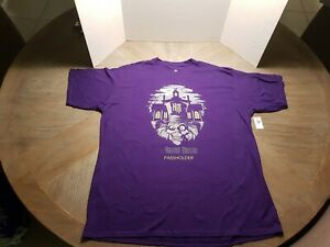 😱Disney Parks Annual Passholder~Haunted Mansion ~Hatbox Ghost Shirt~Limited😱