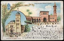 cartolina TORINO ARTE SACRA 1898 missioni dell'impero ottomano