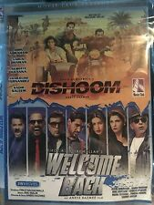DVD Dishoom  & Welcome Back Hindi Bollywood Movie 2 In 1 Hindi movie