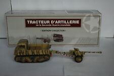 BLINDES WW2: Tracteur d'artillerie raupenschlepper ost + canon 1/43 Collector