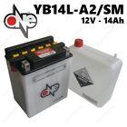 BATTERIA ONE 12V 14AH = YUASA YB14L-A2 MOTO MORINI Dart 350cc 1988-1994