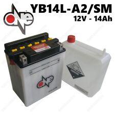 BATTERIA ONE 12V 14AH = YUASA YB14L-A2 KAWASAKI LTDKZ1000B1 B2 B3 B4  1000cc 19