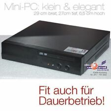 KLEINER COMPUTER 1,5GHZ 7F4K1G5DS-LF 512MB DVD 12V  POWER SUPPLY DAUERBETRIEB MM