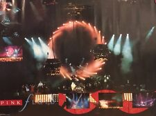 Pink Floyd Vintage Poster On Stage Photo Collage Pictures Promo Pin-up Ad 1980's