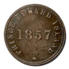 Canada P.E.I. SELF GOVERNMENT & FREE TRADE Token 1857 XF Breton-919