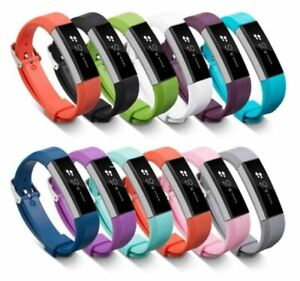 For Fitbit Alta / Alta HR / Ace - Replacement Silicone Watch Strap Band Plain UK