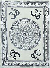 Om Prayer Sign Meditation Wall Hanging Yoga Mat Indian Poster Tapestry 30*40 Art