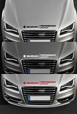 For SUZUKI - PERFORMANCE BONNET CHECKS - CAR DECAL STICKER  - SWIFT 600mm long