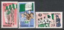 Nigeria 1985 Boy Scouts Iyy Sports Red Cross