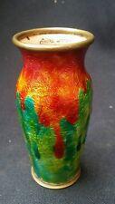 Vase en émaux camille fauré limoges art nouveau