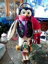 Penguin Handmade Christmas Vintage Holiday & Seasonal Christmas Handmade Items