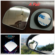 2P Car Clear Side Blind Spot Wide Angle Adjustable Rearview Mirror Blind Sector