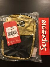 Supreme TNF Metallic Shoulder Bag Gold