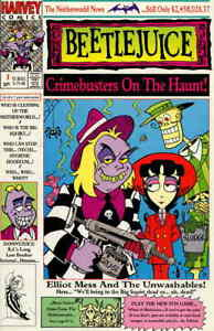 Beetlejuice: Elliot Mess and the Unwashables #1 VF/NM; Harvey | save on shipping