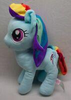 "My Little Pony SOFT RAINBOW DASH PONY 13"" Plush Stuffed Animal Toy Hasbro 2016"