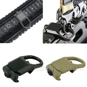 Sling Mount Connection Accessories My Guard Store Adapters Sling Attachment Point Two Point Standard Model Steel Straps Buckle Hand Outdoor Sports Tool Black