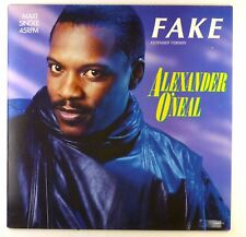 "12"" Maxi - Alexander O'Neal - Fake (Extended Version) - E276 - cleaned"