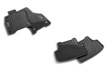 New Genuine Audi A3 Sportback (8Y) 2020+ front and rear rubber mat set