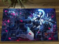 Anime FGO Fate Grand Order Jeanne d'Arc Yugioh Playmat Trading Card Game TCG Mat