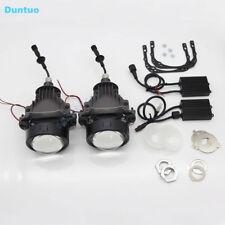 LED Car Headlights Auto Lens headlight Hi/Lo Beam Lamp H4 Projector-Right Drive