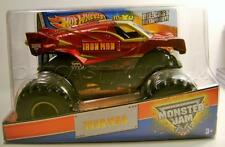 IRON MAN MONSTER JAM TRUCK 1/24 SCALE DIECAST HOT WHEELS 2013 '13