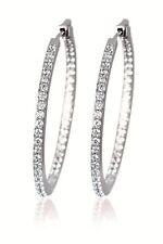 Mabina 563139 orecchini  a cerchio argento donna  zirconie Mariana Rodriguez