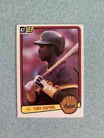 1983 Donruss Baseball #598 Tony Gwynn Rookie Card RC San Diego Padres🔥🔥HOF