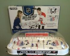 STIGA Rodwarriors PENGUINS Table ROD HOCKEY Game BUBBLE DOME Hand-Painted TEAMS