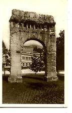 Roman Arc de Campanus-Aix Les Bains-France-RPPC-Vintage Real Photo Postcard