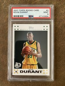 2007 Topps #2 Kevin Durant PSA 9