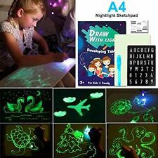 Kennifer Light Up Drawing Kit, Draw with Light Fun and Developing Toy Board