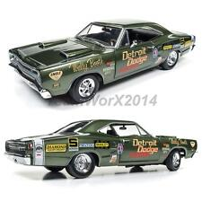 AUTO WORLD AW234 1969 Dodge Super Bee Wally Booth Diecast Car 1:18 NEW!