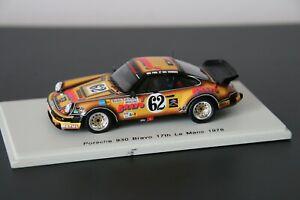 Porsche 930 N°62 Le Mans 1978 spark 1/43
