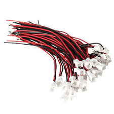 20pcs micro JST pH 1.25 2 pin machos femenina los conectores o enchufes con drahtkabe