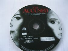 THE ACCUSED  starring Jodie Foster, Kelly McGillis - DISC ONLY {DVD}