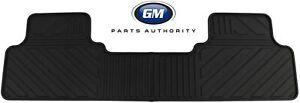 2015-2021 Chevy Colorado Rear Floor Mat - Genuine GM - Rubber Floor CREW CAB