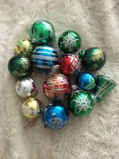 Christmas Job Lot Of Vintage  And Pre Owned  Decorations X 14