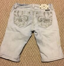 Womens Miss Me Shorts, Signiture Bermuda Style Size 28