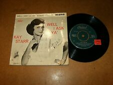 KAY STARR - EP UK CAPITOL 20210  / LISTEN - VOCAL JAZZ GIRL POPCORN