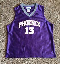 Vintage Phoenix Suns # 13 Steve Nash Basketball Jersey By Nba Youth Large
