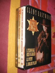 CLINT EASTWOOD WESTERN COLLECTION COFANETTO 3 DVD - NUOVI E ORIGINALI