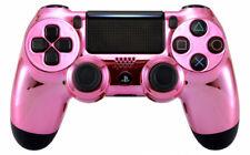 Chrome Pink Ps4 Custom UN-MODDED Controller Exclusive Unique Design CUH-ZCT2
