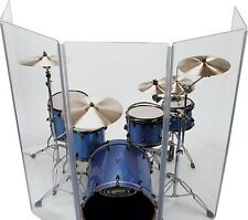 Drum Shield Drum Screen Five Panels 2ft x 4ft with Living Hinges