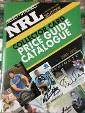 NEW-NRL Collector Card Price Guide (1994-2012)2nd Edition, 2018 (290 Pages)