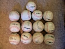 softball lot used 13 each 12 in balls Free Shipping