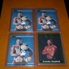 1991 Ringlords Boxing Champion Evander Holyfield Players Choice Rare Card Mint