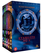 DVD:STARGATE SG1 SERIES 1 BOX SET - NEW Region 2 UK