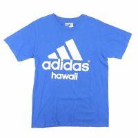 ADIDAS  Blue Sports Short Sleeve T-Shirt Mens M