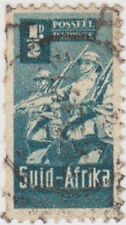 (RSA225) 1942 South Africa ½d green infantry (SUID) (B)